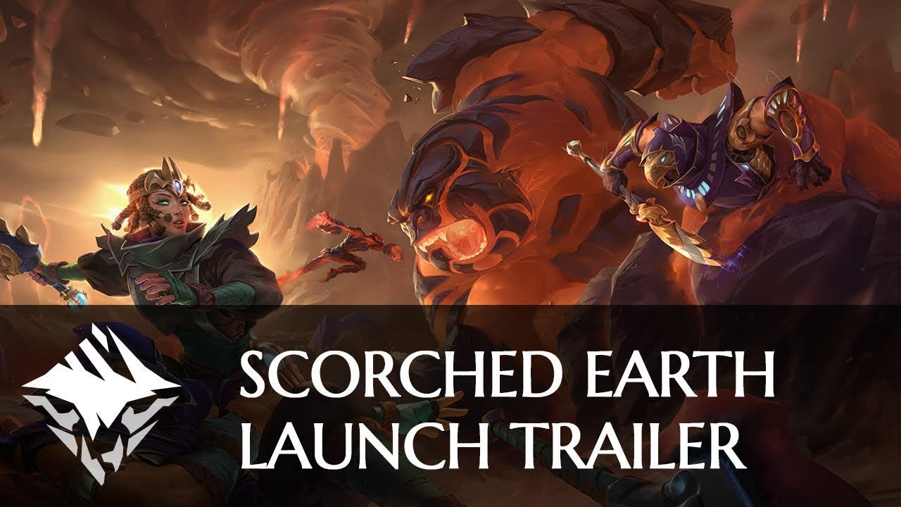 dauntless scorched earth update