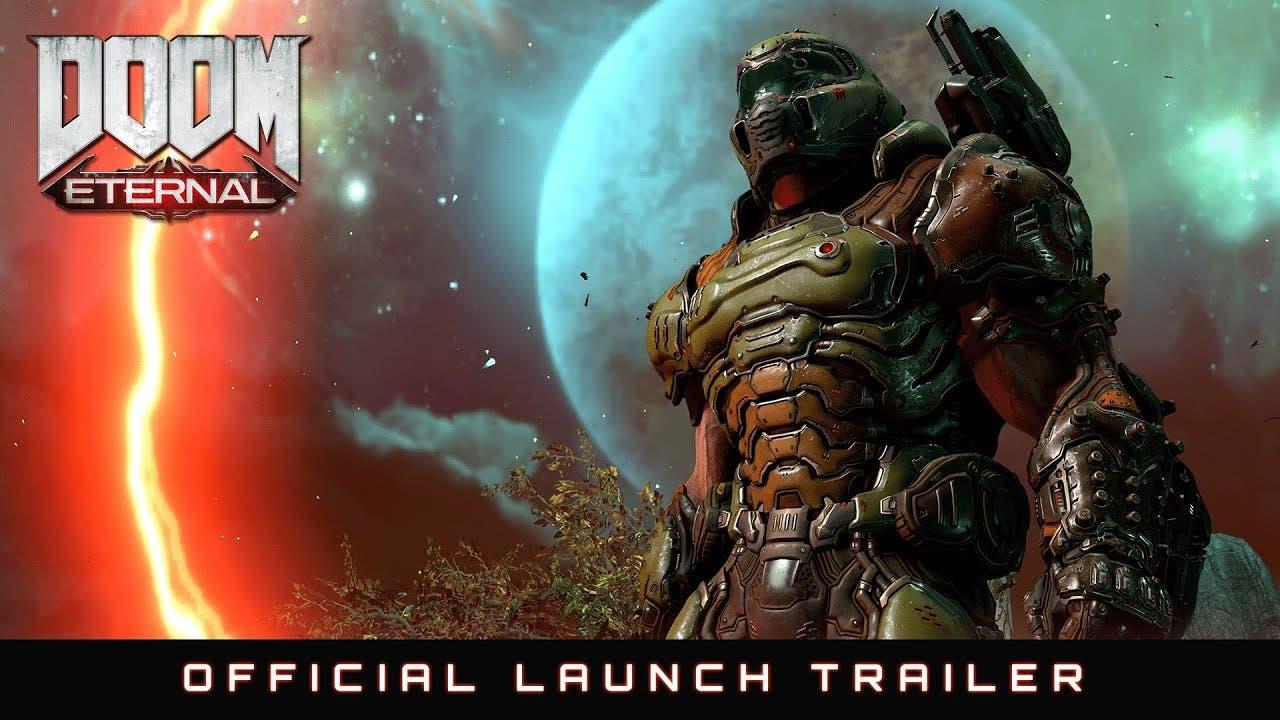doom eternals launch trailer is