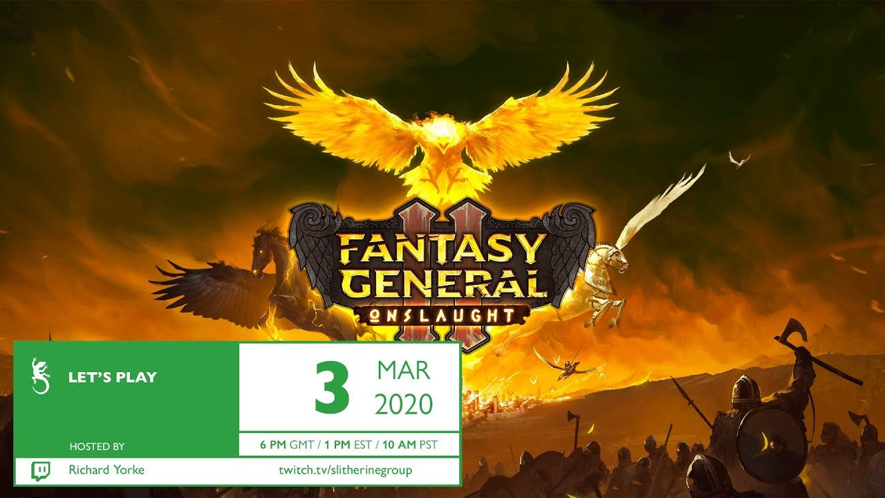 fantasy general ii gets its firs