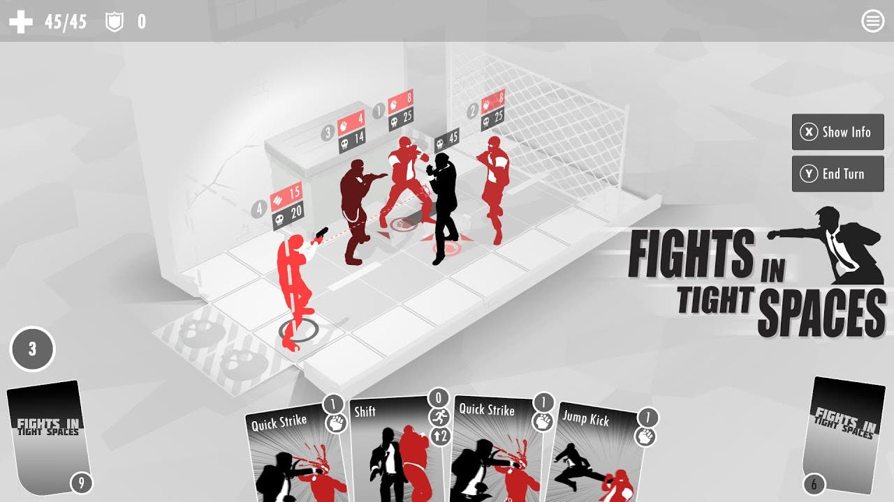 fights in tight spaces is a tact