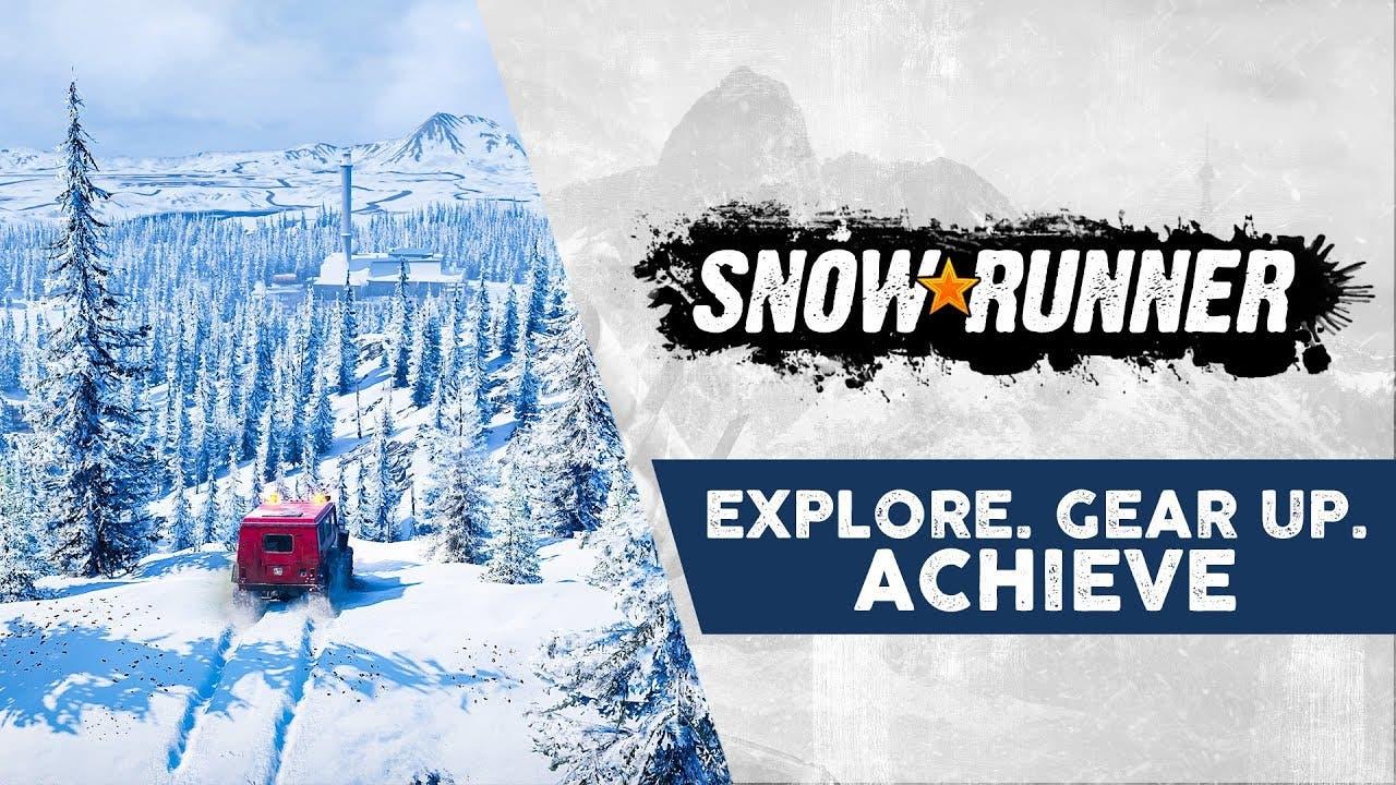 snowrunner trailer showcases pro