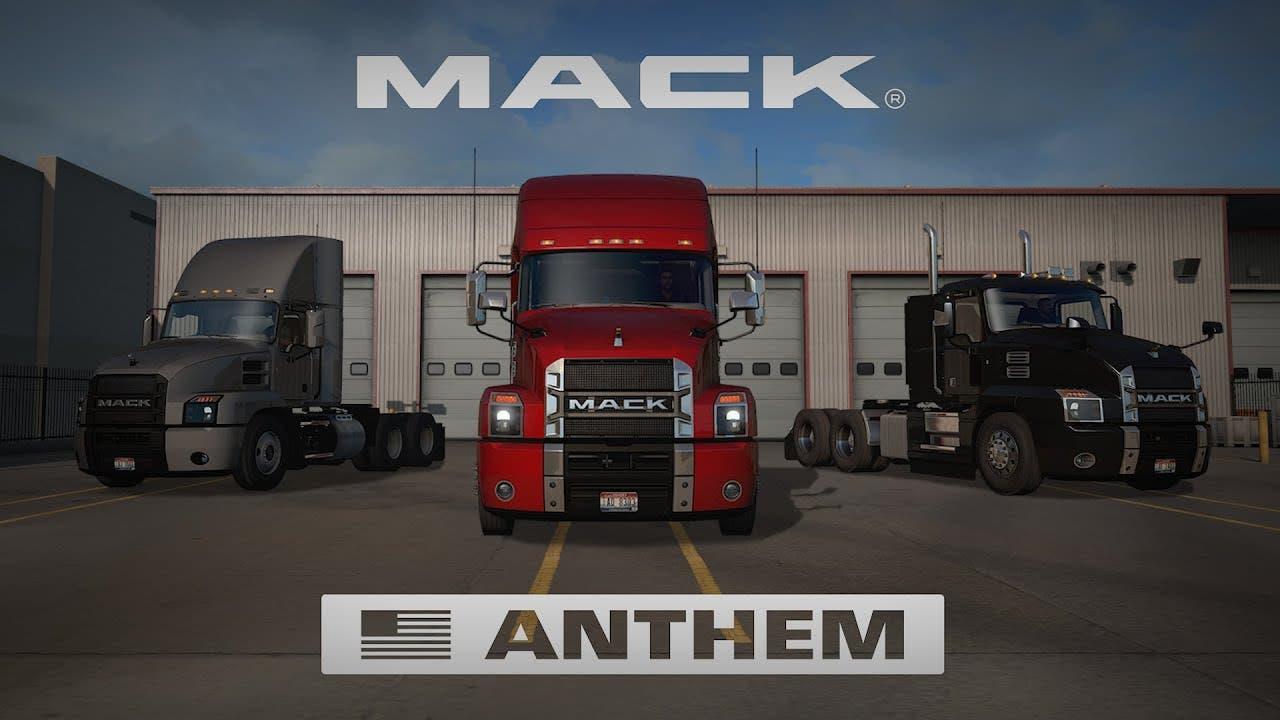 mack anthem trucks comes to amer