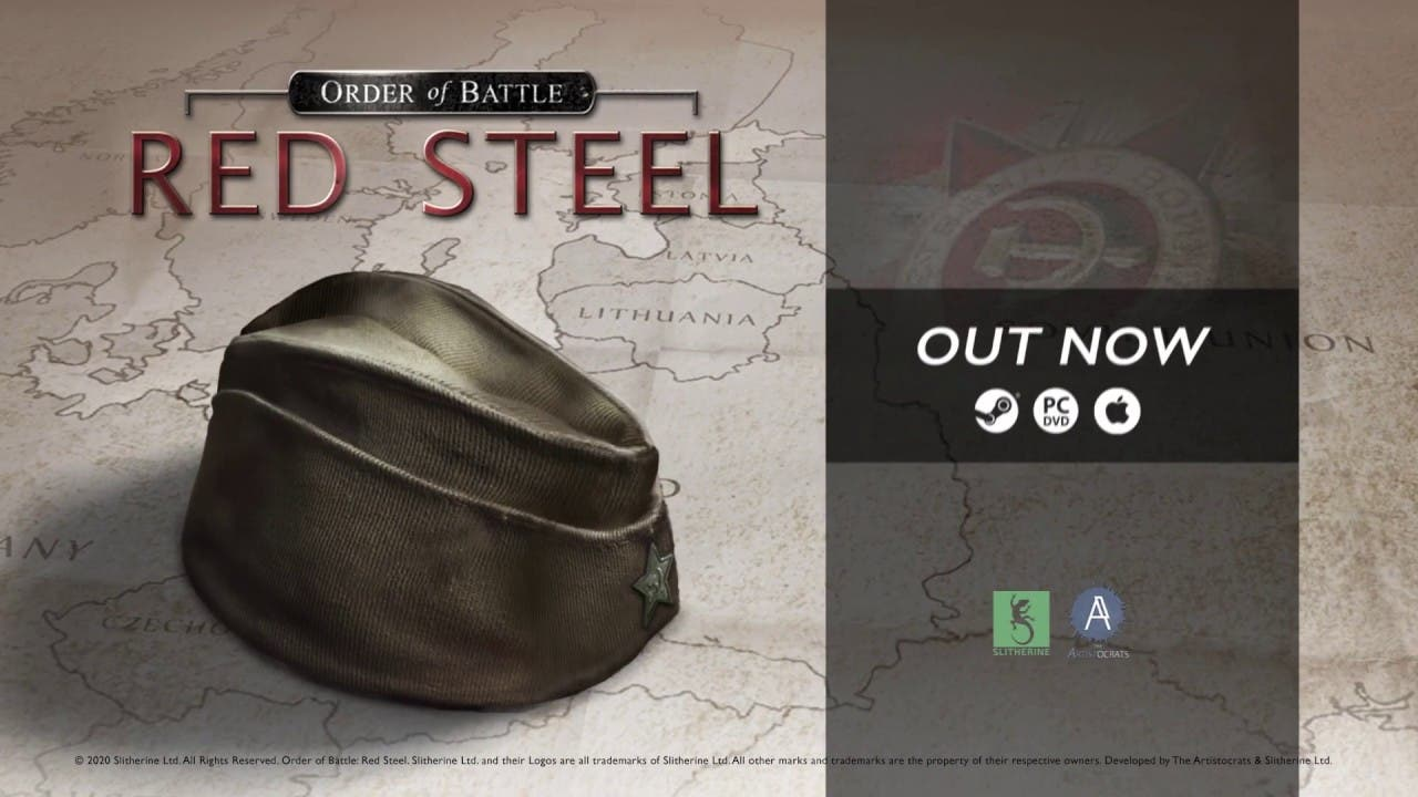 order of battle red steel is the