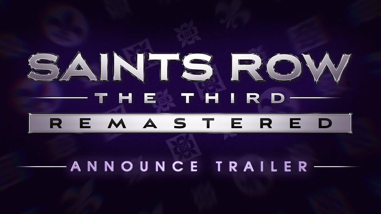 saints row the third remastered
