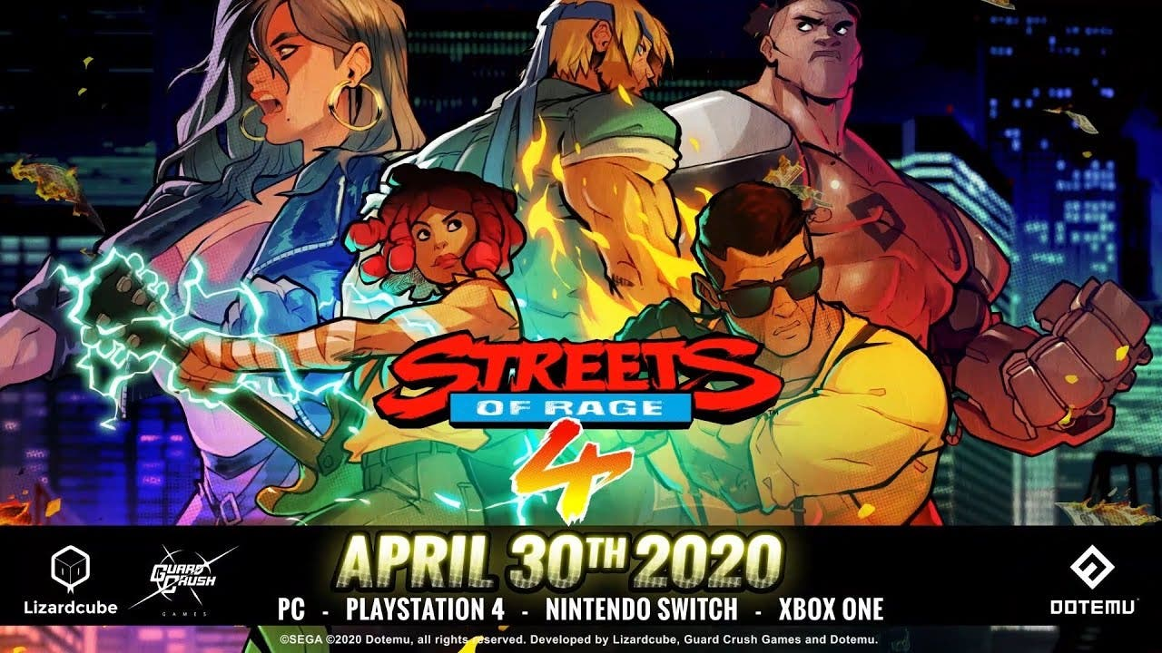 streets of rage 4 gets a release