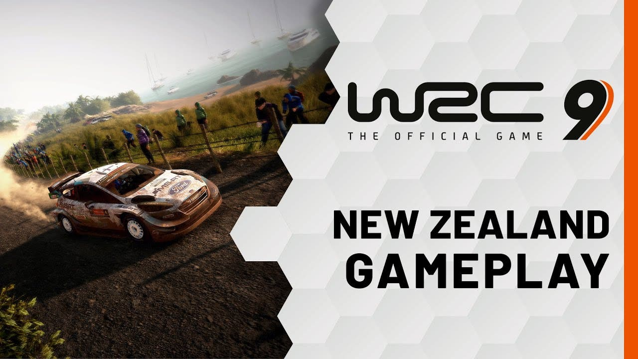 wrc 9 gameplay of new zealand re