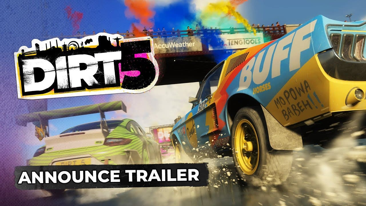 codemasters reveals dirt 5 the o