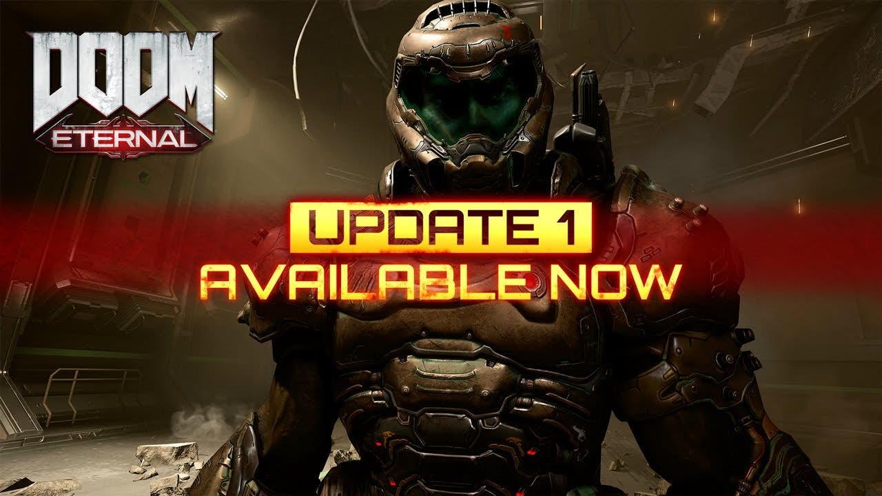 doom eternal update 1 is out now