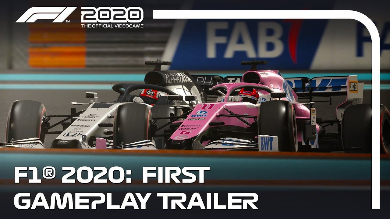 first gameplay trailer for f1 20