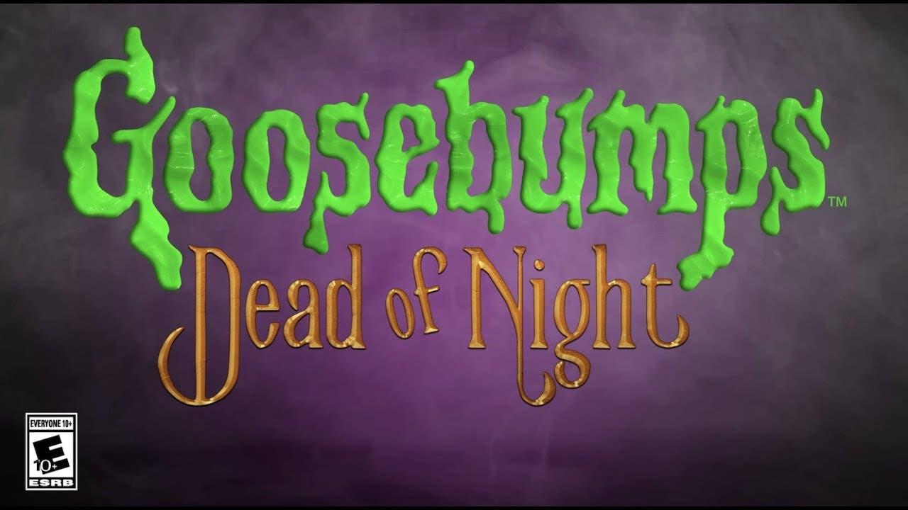 goosebumps dead of night is a fi