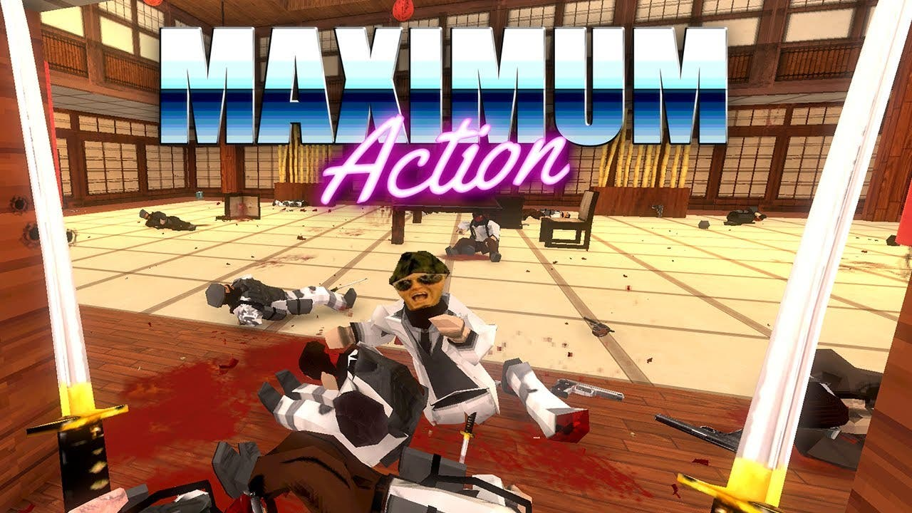 maximum action is on sale for 12