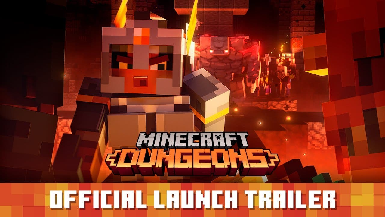 minecraft dungeons now available