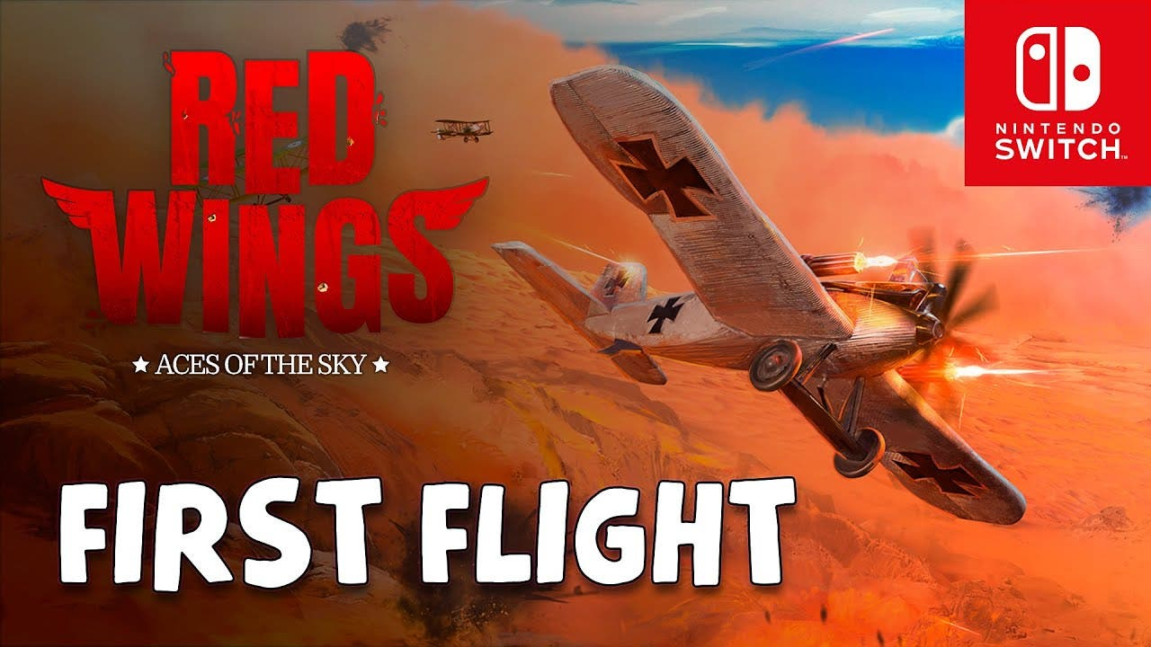red wings aces of the sky takes