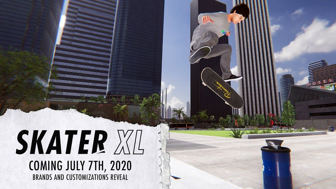 skater xl gets a july 7th releas