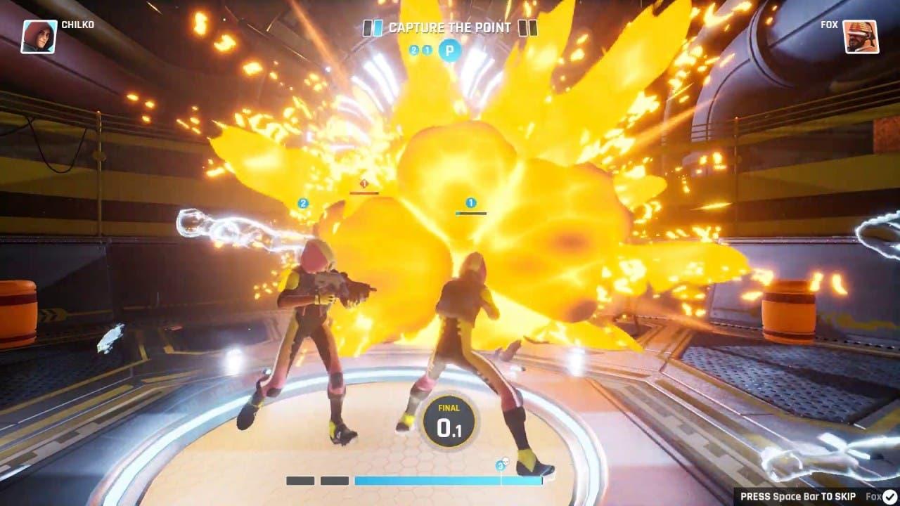 time paradox shooter quantum lea