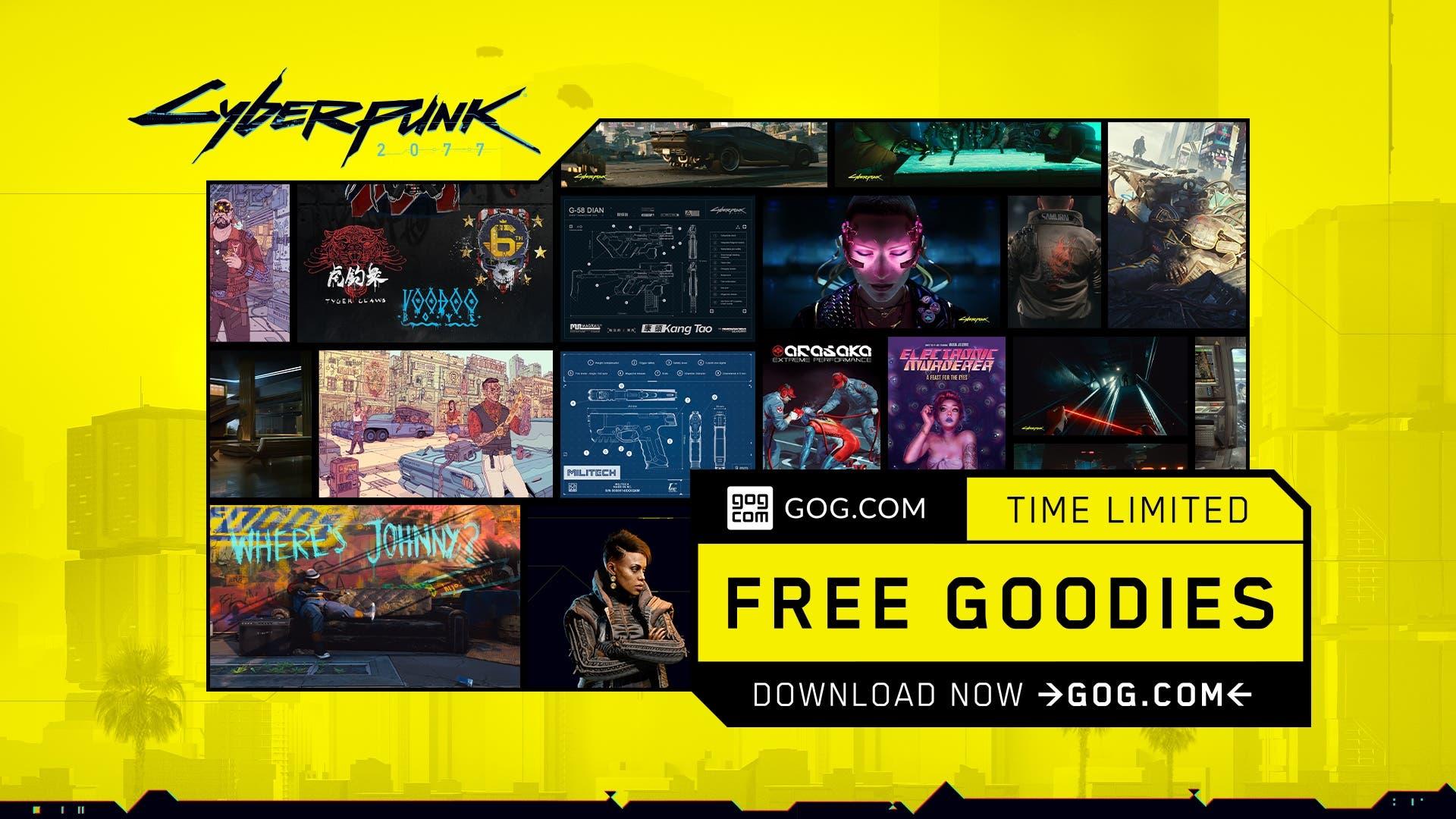 CP2077 digital goodies GOG