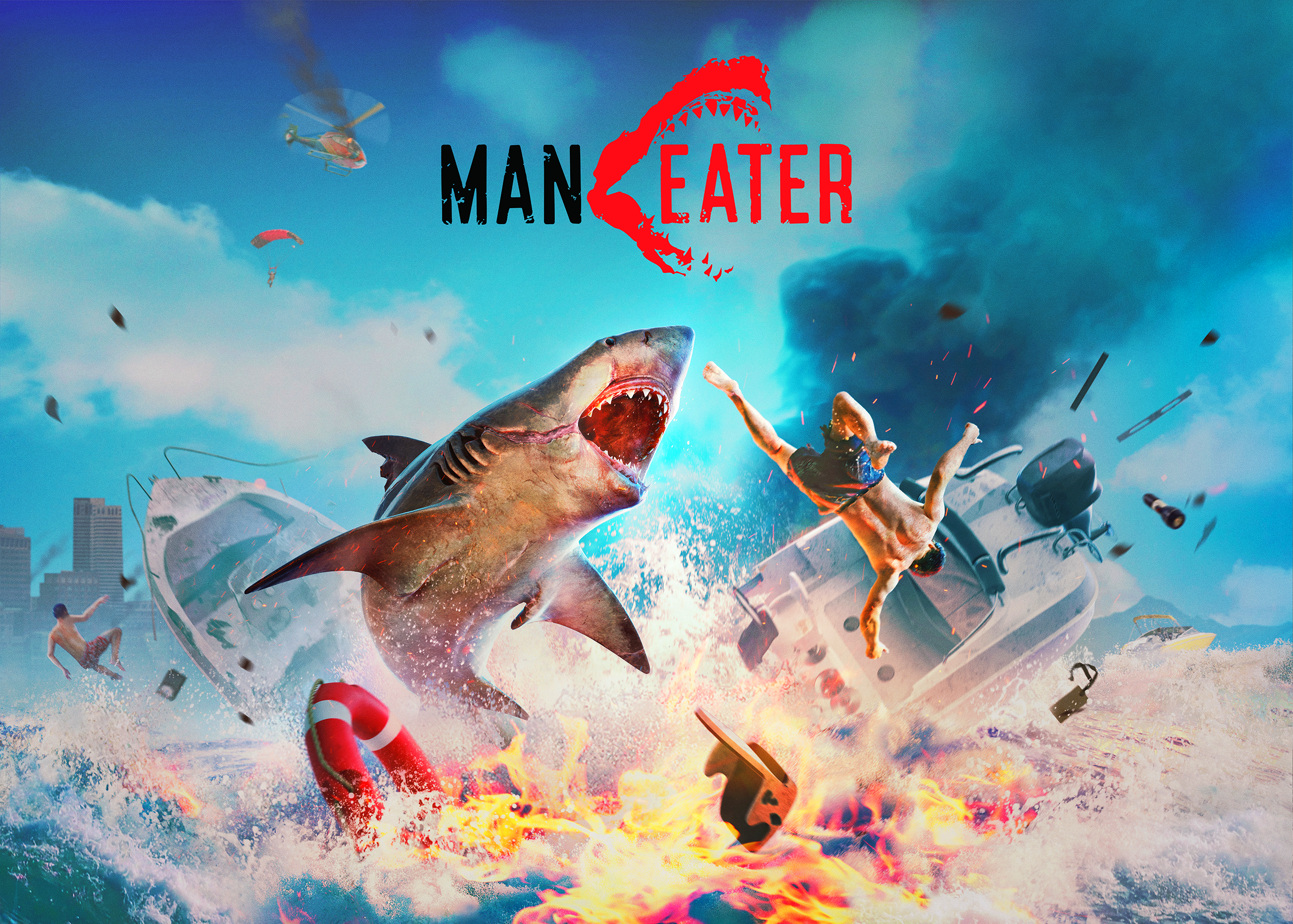 Maneater review featured