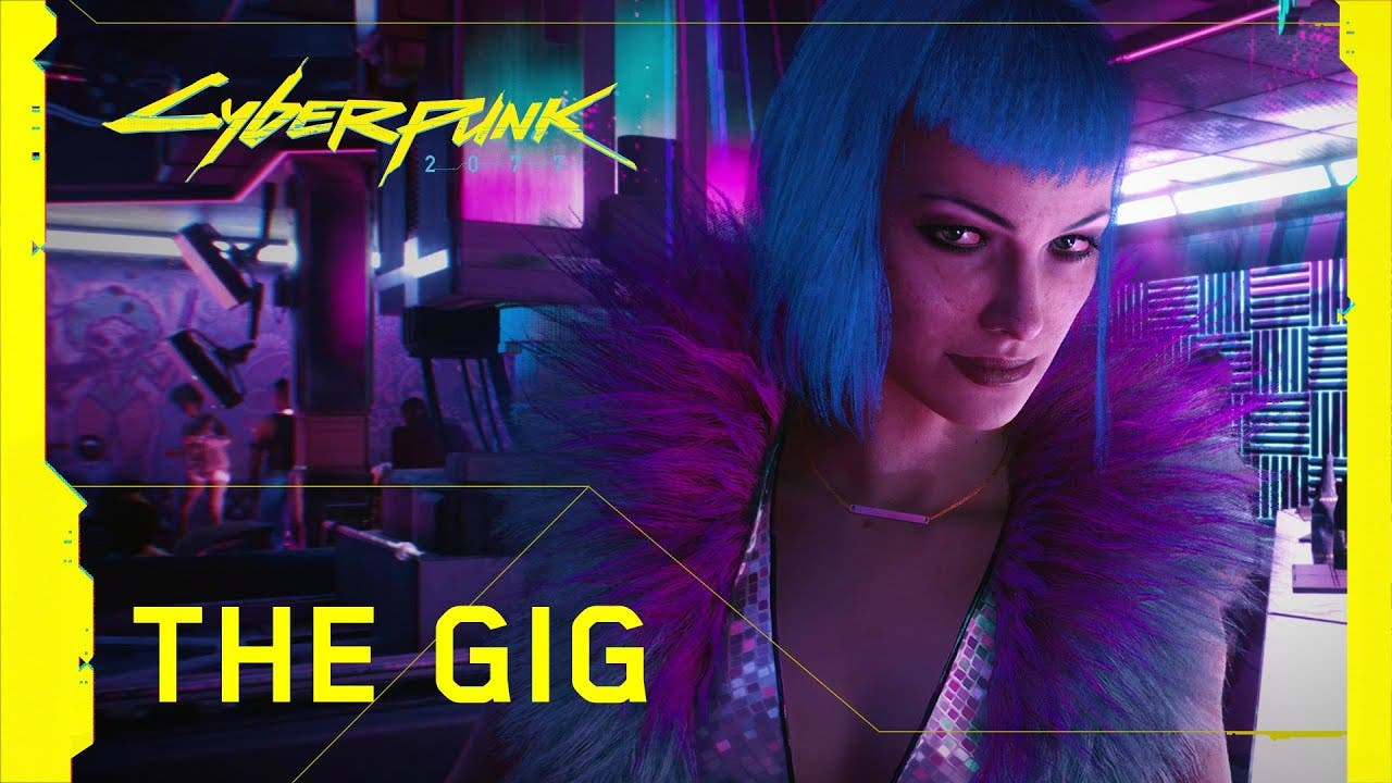 cyberpunk 2077 the gig trailer s