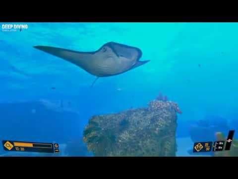 deep diving simulator celebrates