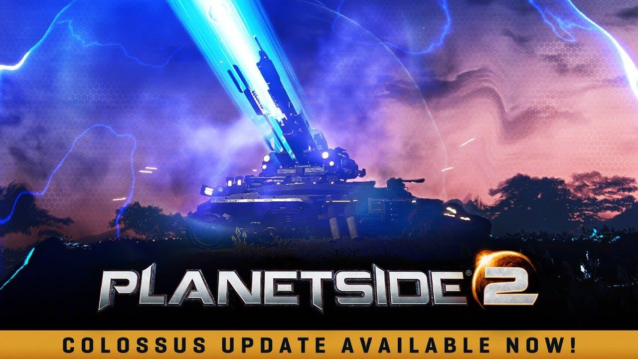 planetside 2 gets new colossus h