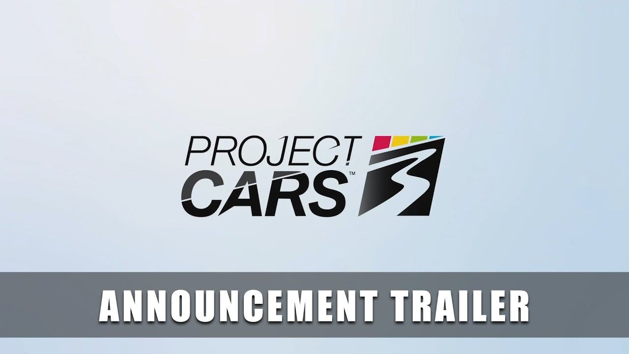 project cars 3 announced releasi