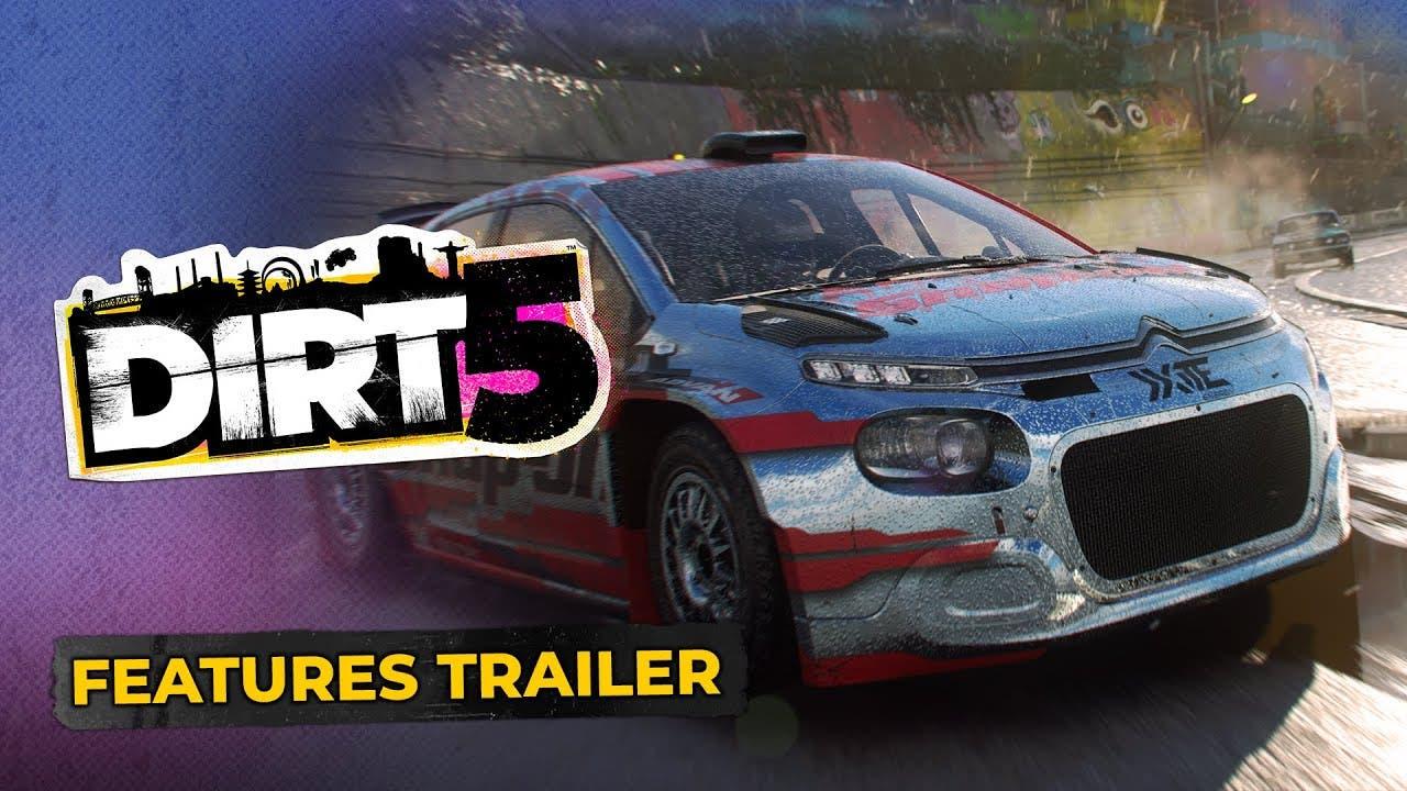 dirt 5 trailer highlights all th