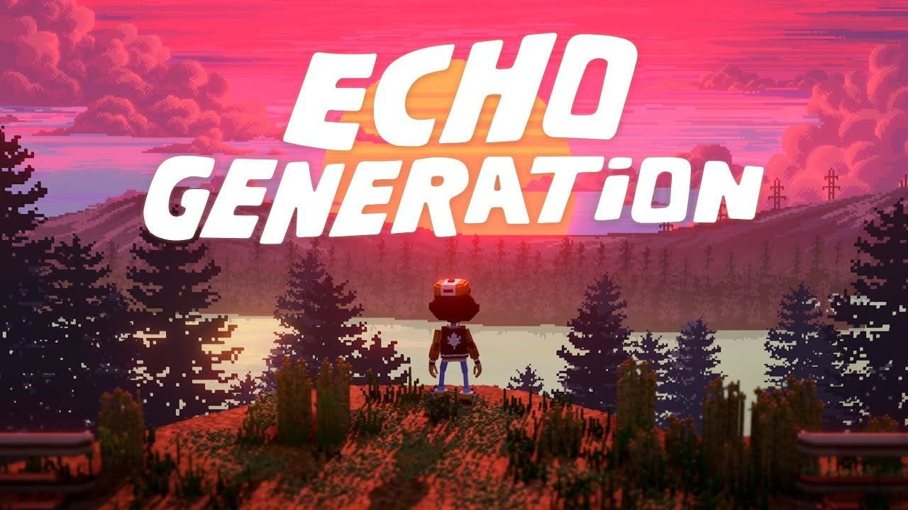 echo generation is a voxel turn