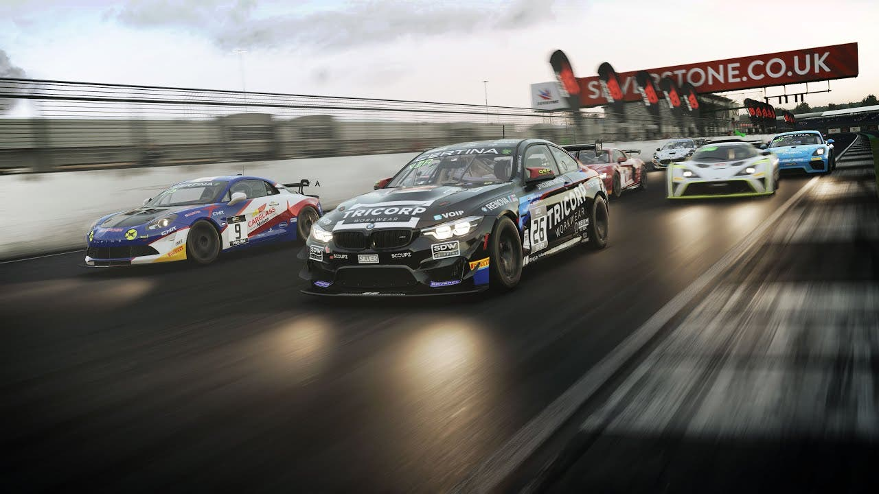 the cars of gt4 come to assetto