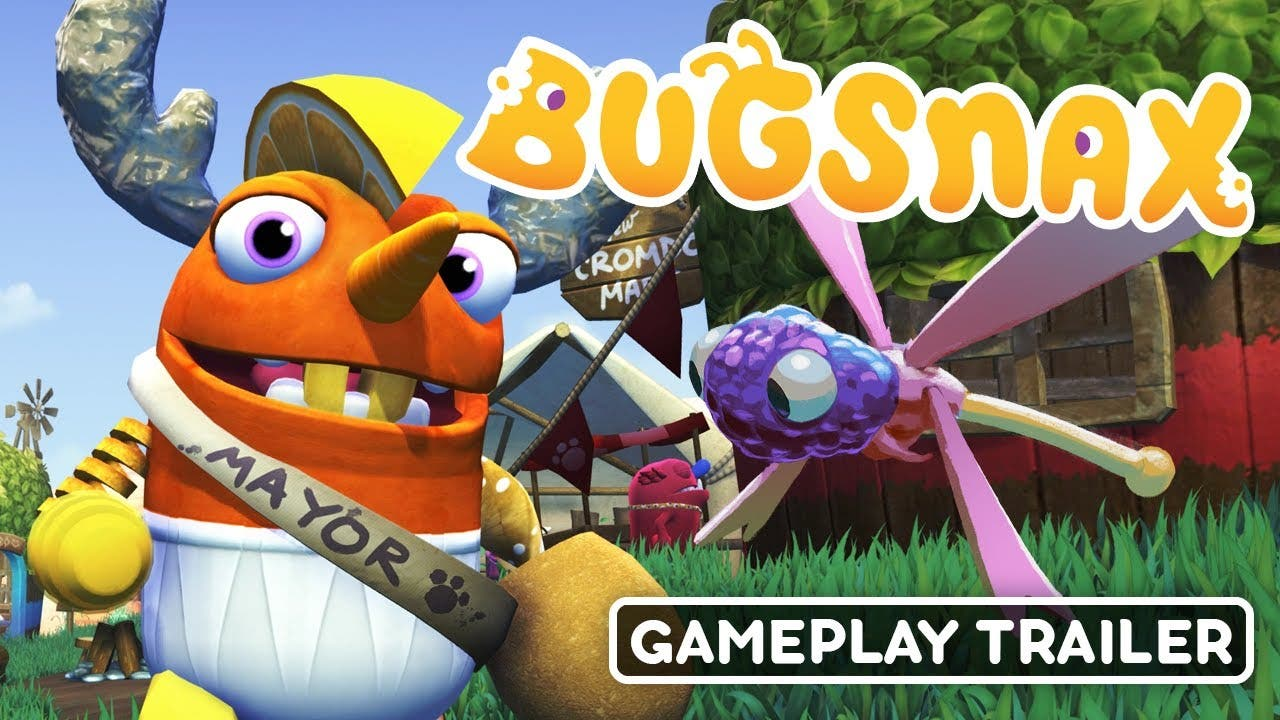 first gameplay of bugsnax shown