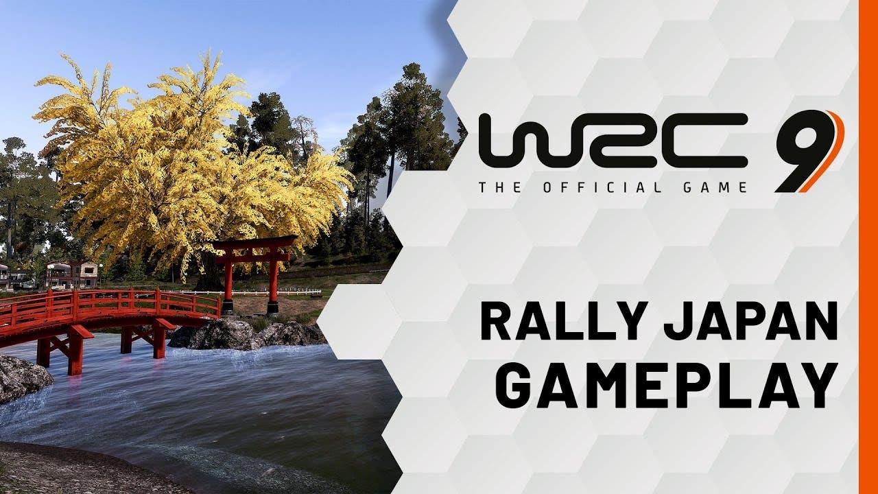 wrc 9 gameplay trailer showcases