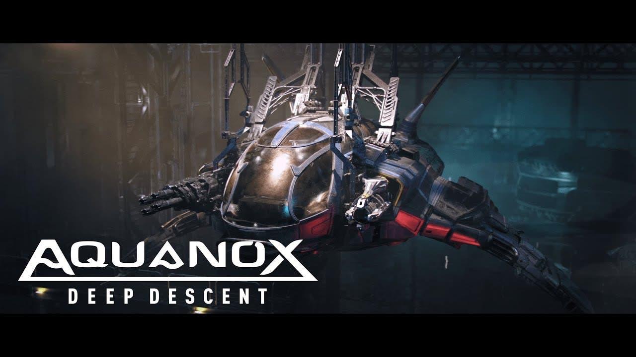 aquanox deep descent takes the p