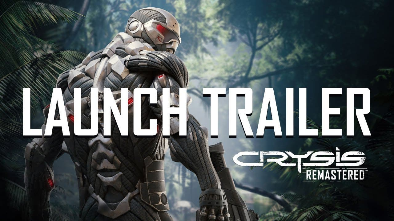 crysis remastered out today on p