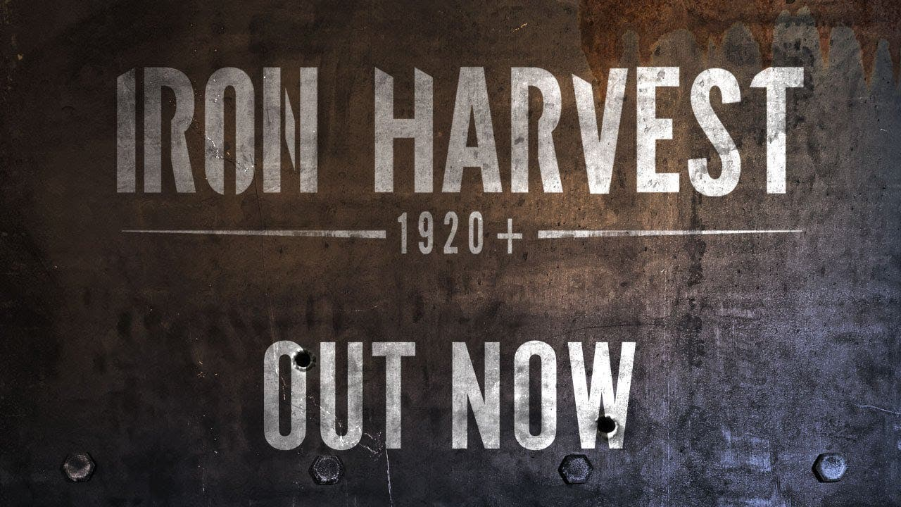 iron harvest launch trailer sign