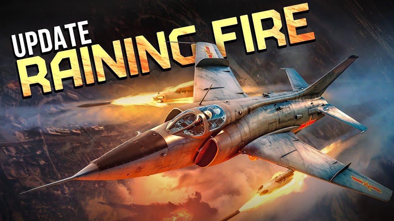 war thunder raining fire update