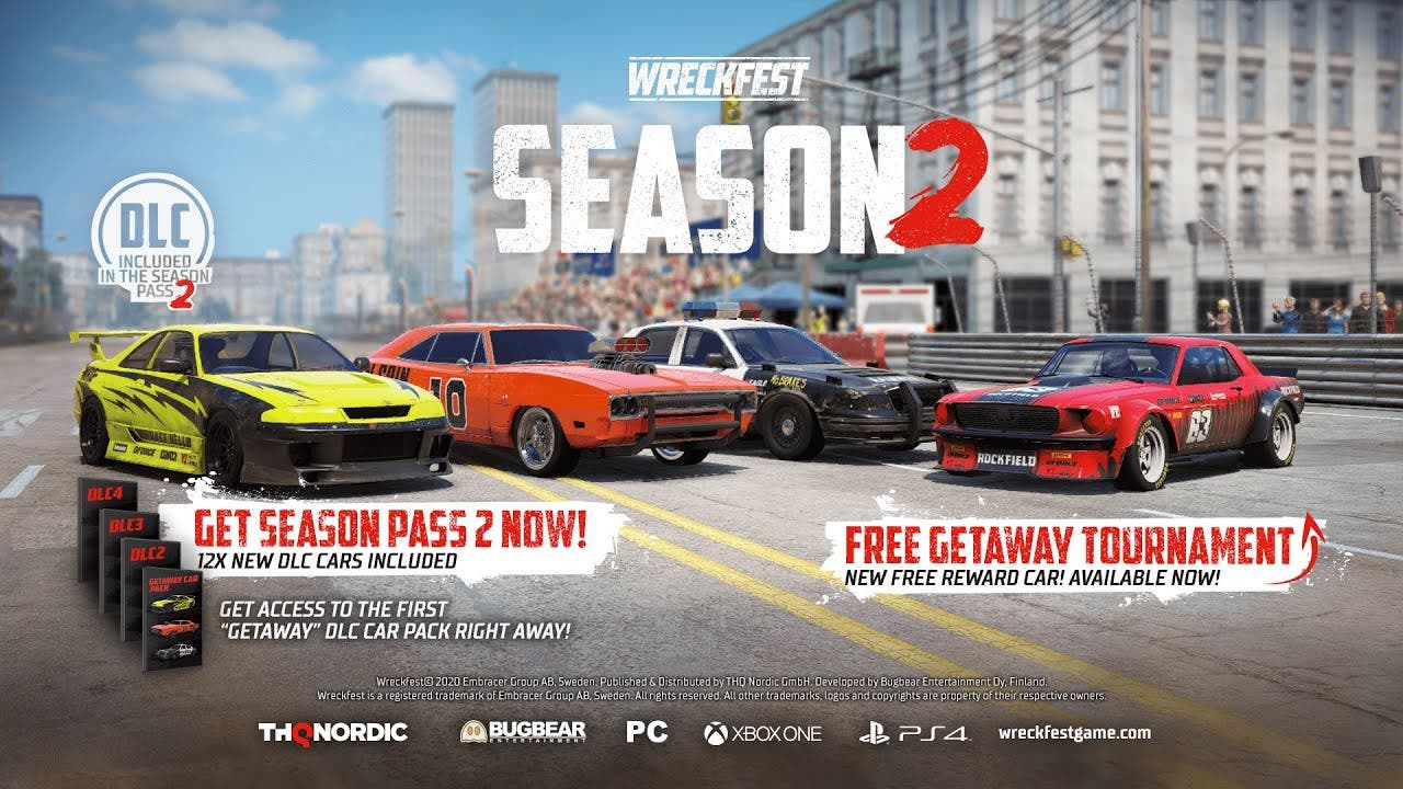 wreckfest begins season 2 today