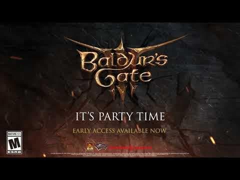 baldurs gate 3 enters into early