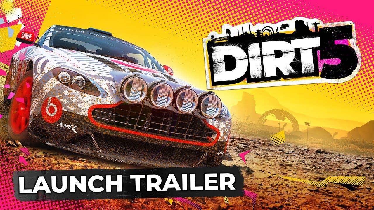 dirt 5 launch trailer drops ahea