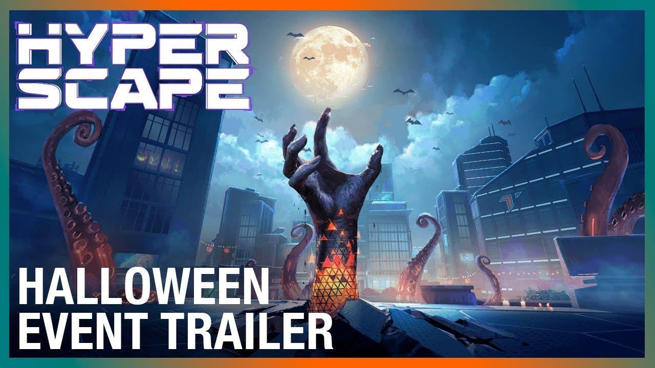 hyper scape begins its halloween