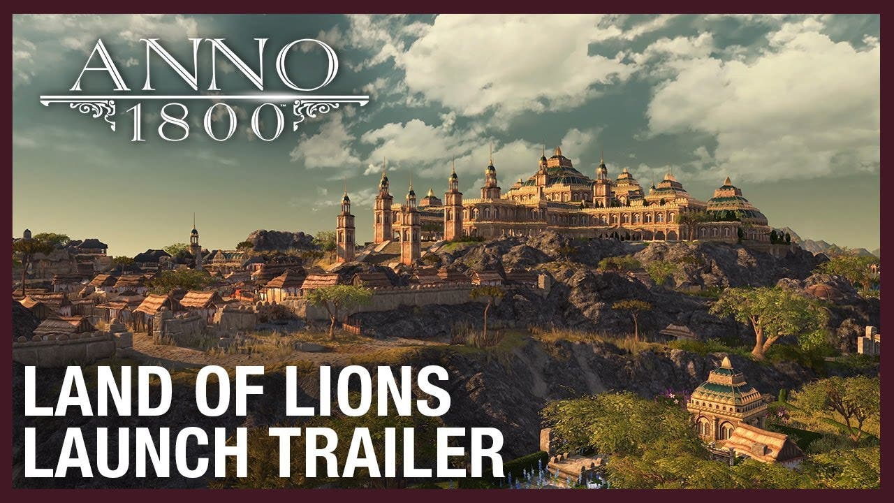 land of lions expansion for anno