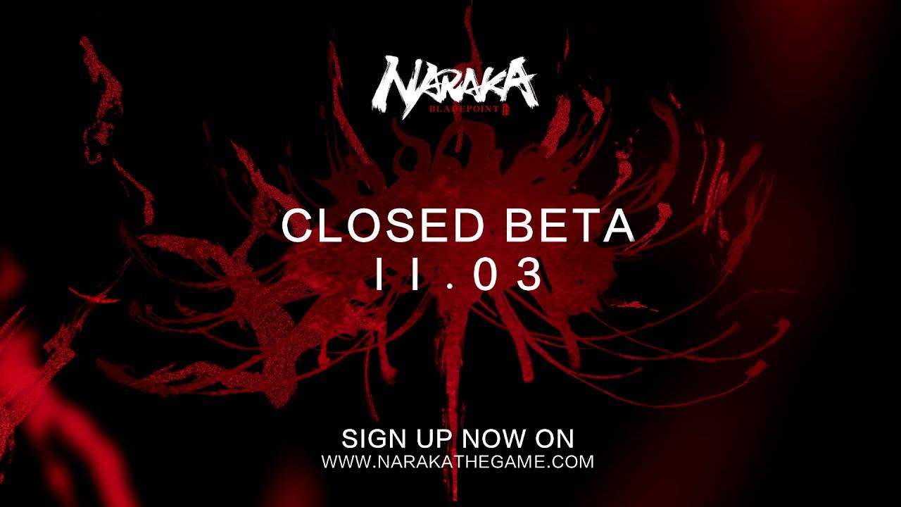 naraka bladepoint closed beta be
