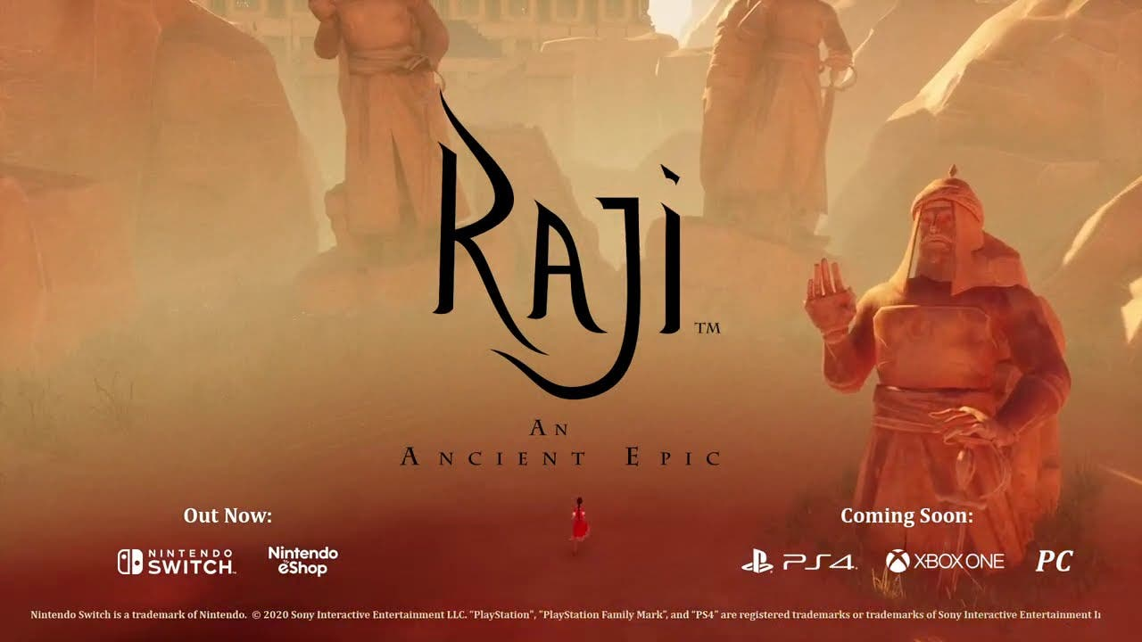 raji an ancient epic is out now