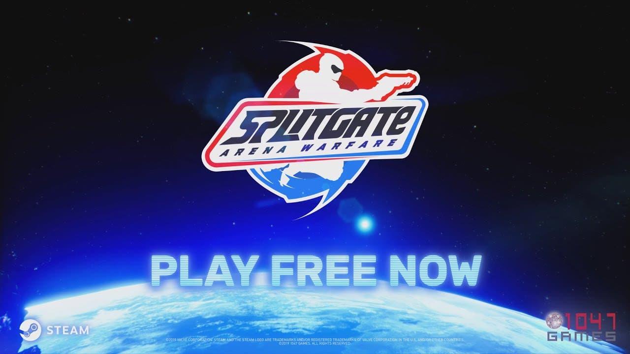 splitgate arena warfare now free