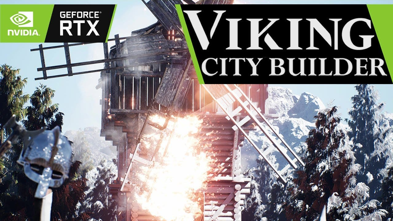 viking city builder is the first