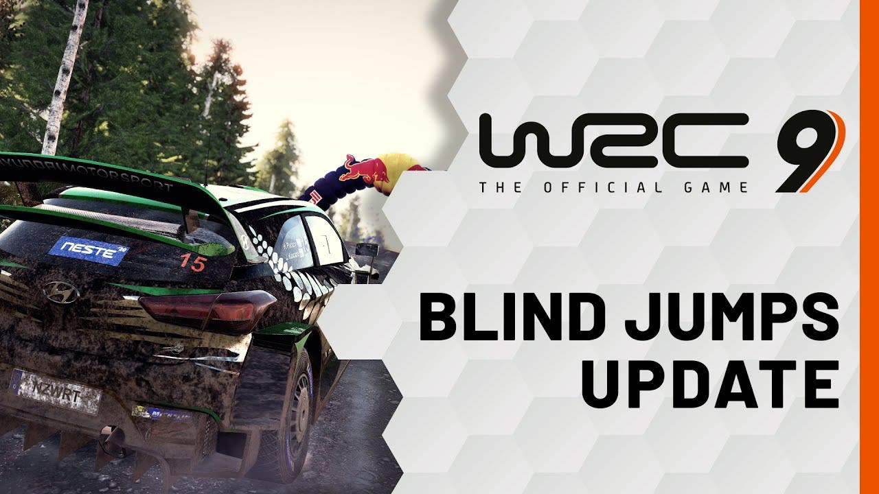 wrc 9 blind jumps update adds sp