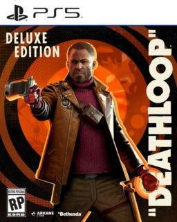 Deathloop Deluxe ps5 boxfront LOC EN ESRB