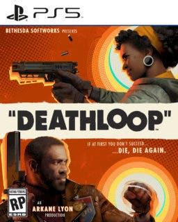 Deathloop Standard ps5 boxfront LOC EN ESRB