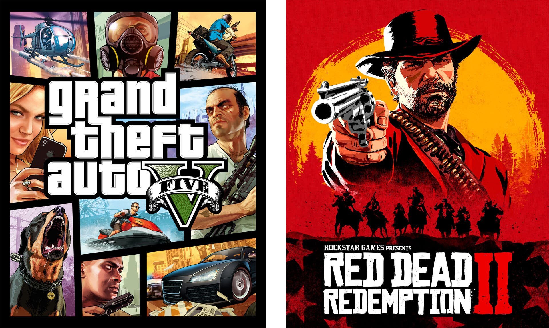 Grand Theft Auto V Red Dead Redemption 2 11 6 2020