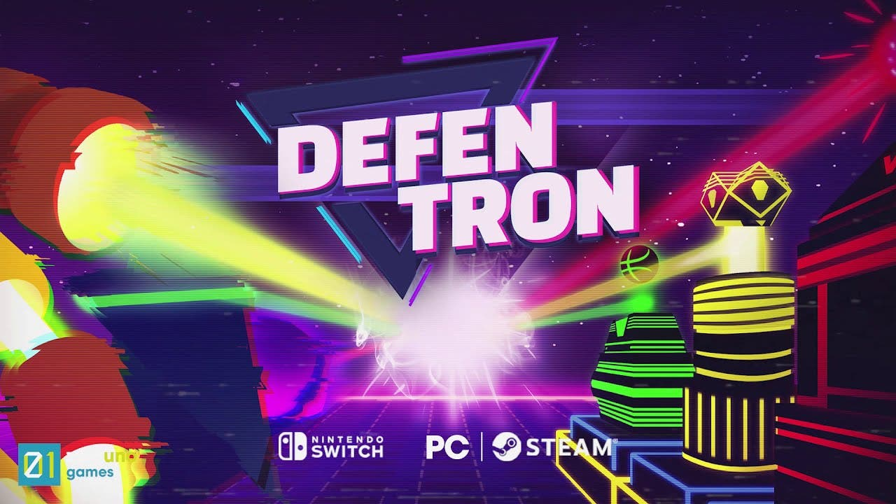 defentron is a 3d tower defense