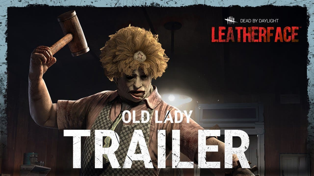 leatherface gets old lady outfit