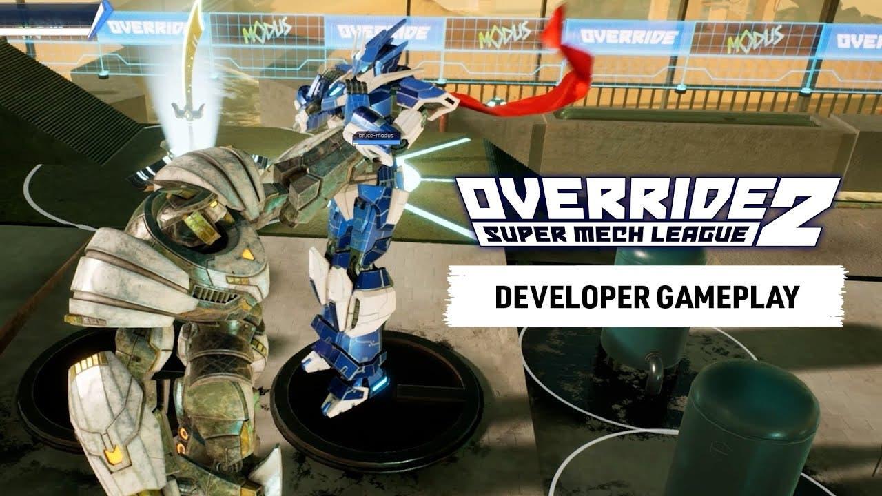 override 2 super mech league com
